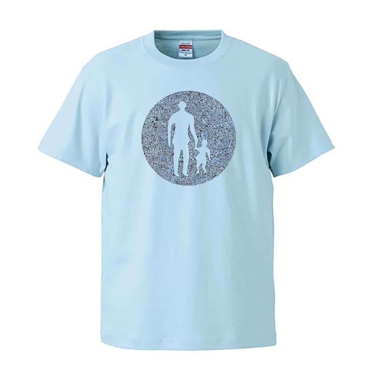 歩行者マークのTシャツ
