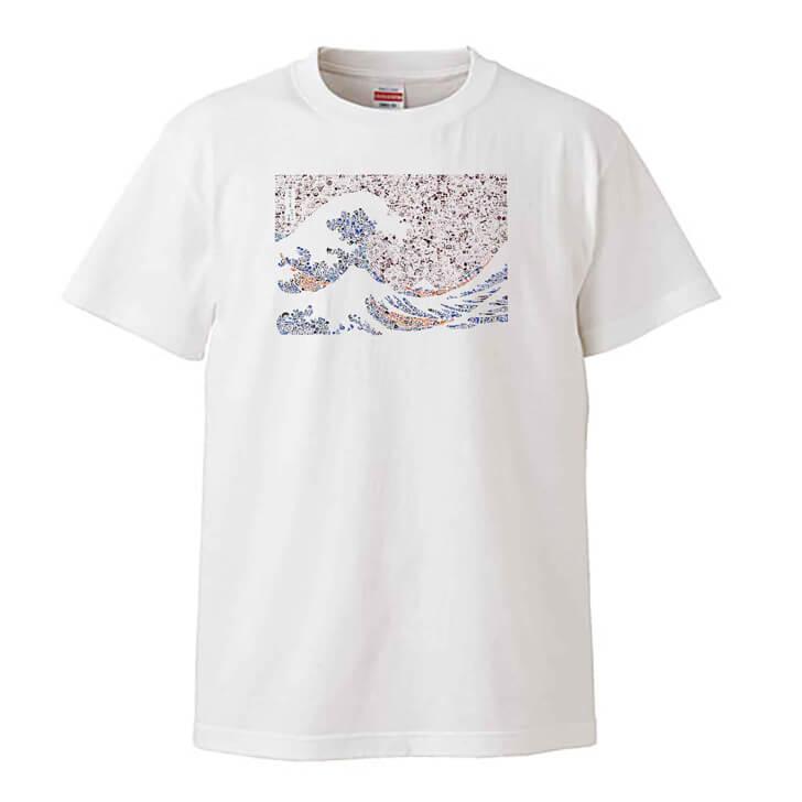 富嶽三十六景のTシャツ
