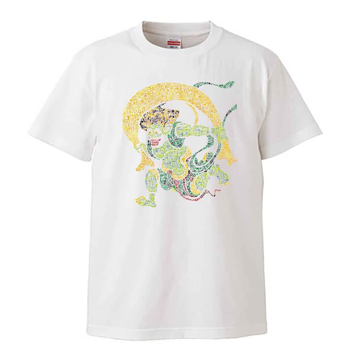 風神雷神図のTシャツ