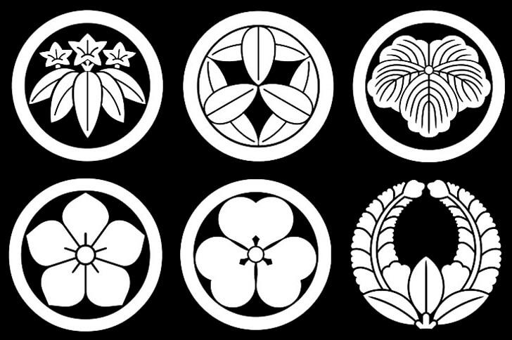 植物紋たち