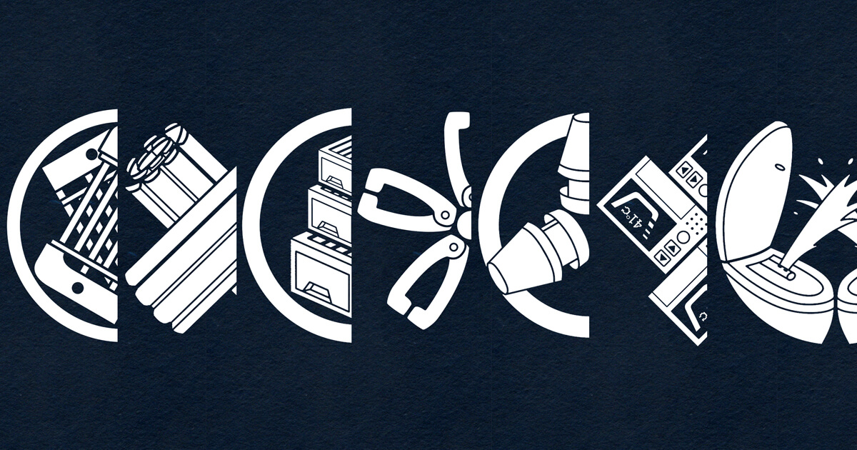 日用品がテーマの家紋