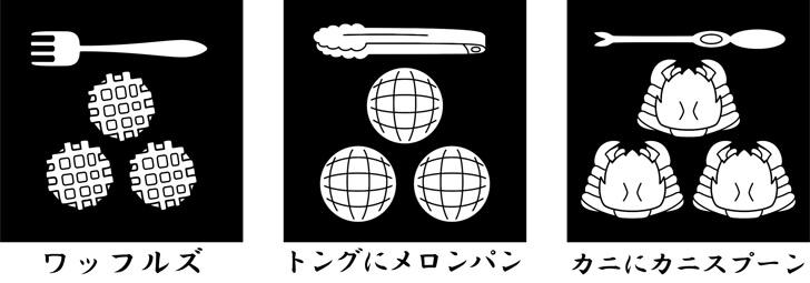 長門三ッ星のオマージュ家紋