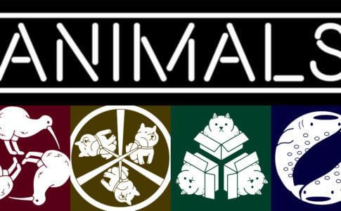 動物の家紋たち