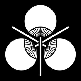 三つ団扇の家紋